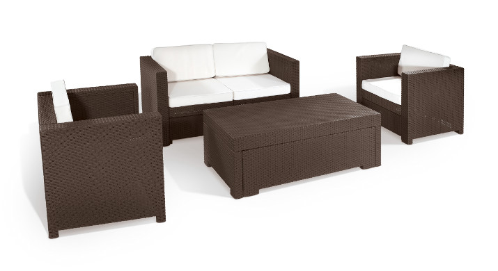 m belset riviera von keter gartenm bel loungeset sitzgruppe garten chill out. Black Bedroom Furniture Sets. Home Design Ideas